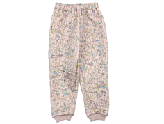 Wheat Alex thermal trousers dark powder flowers multi