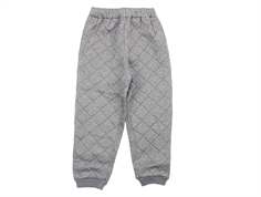 Wheat Alex thermal trousers gray melange