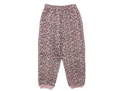 Wheat Alex thermal trousers powder brown flowers