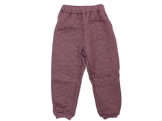 Wheat Alex thermal trousers soft eggplant