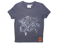 Wheat Avengers t-shirt greyblue