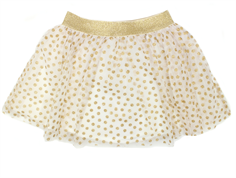 Wheat Belle tylskørt ivory gold dots