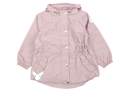 Wheat Elma transition jacket rose powder