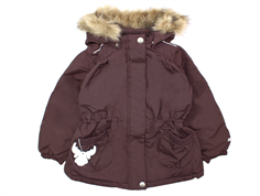 Wheat Elvira winter jacket eggplant