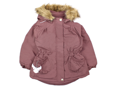 Wheat Elvira winter jacket plum