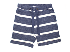 Wheat Francis shorts indigo melange