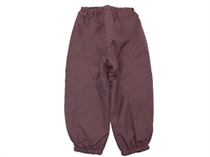 Wheat winter trousers Jay soft eggplant