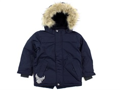 Wheat winter jacket Julian midnight blue