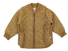 Wheat thermal jacket Loui caramel dot