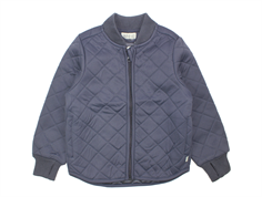 Wheat Loui thermosjacket dark blue