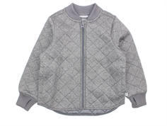 Wheat Loui thermal jacket melange gray