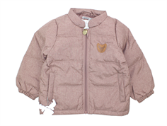 Wheat Luca transition jacket dusty rouge