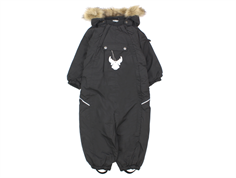 Wheat Nickie snowsuit charcoal