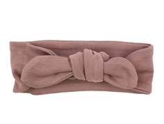 Wheat Olivia hair band dusty plain rouge