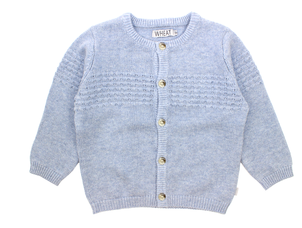 Wheat Sailor cardigan cloud melange