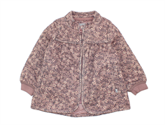 Wheat thermosjacket Thilde dusty rouge flower