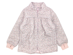 Wheat Thilde thermosjacket dusty lilac with flowers