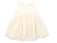 Wheat Vilna tulle mini dress eggshell