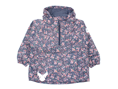 Wheat anorak Ziggy grisaille with flowers