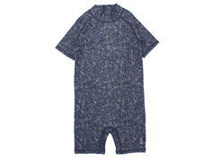 Wheat swimsuit/coveralls Cas navy feather UV