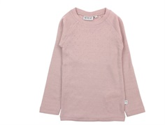 Wheat long-sleeved t-shirt/undershirt fawn wool
