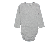 Wheat body melange gray plain