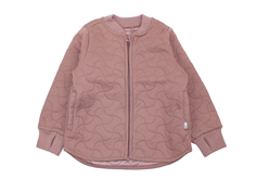 Wheat thermosjacket Loui dusty rouge