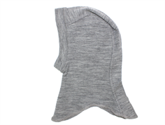 Wheat balaclava melange gray wool