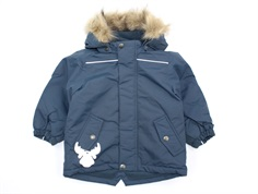 Wheat winter jacket Elton blue kerosene