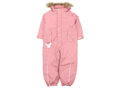 Wheat snowsuit Miley blush