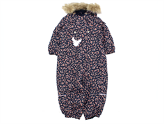 Wheat snowsuit Nickie navy flower