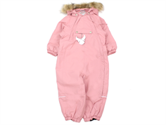 Wheat snowsuit Nickie blush