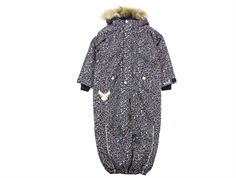 Wheat snowsuit Moe navy flower