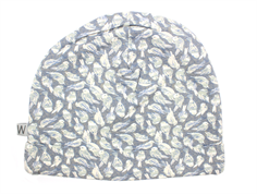Wheat hat soft gray birds