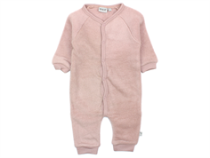 Wheat jumpsuit fawn wool