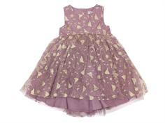 Wheat dress Tulle Cinderella dusty rouge
