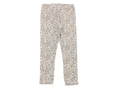 Wheat leggings ivory with flowers