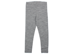 Wheat leggings gray melange wool