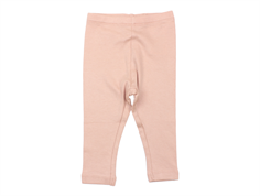 Wheat leggings rib misty rose