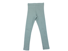 Wheat leggings rib stormy sea