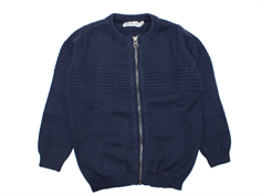 Wheat cardigan navy sailor
