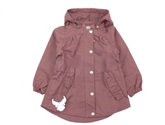 Wheat transition jacket Elma plum