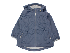 Wheat transition jacket/soft shell jacket Gilda greyblue