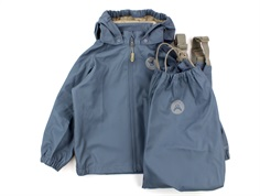 Wheat rainwear Charlie pants and jacket stormy weather