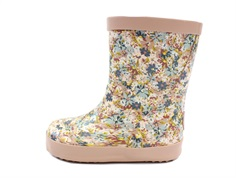 Wheat rubber boot Alpha multi flowers