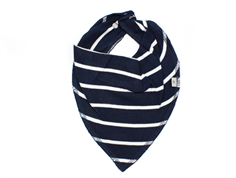 Wheat drool lost navy stripe