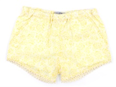 Wheat shorts Ina lemon flowers