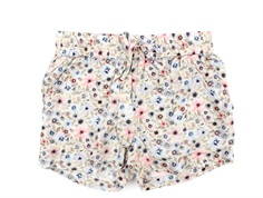 Wheat shorts Merle watercolor flowers