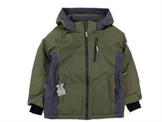 Wheat ski jacket Milo army leaf