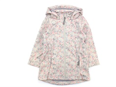 Wheat softshell jacket Alvira poppy flowers